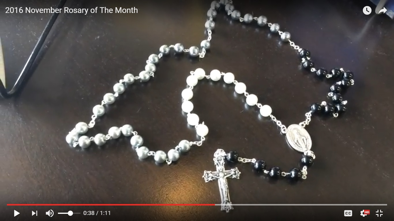 the rosary The rosary is a scripture-based prayer it begins with the apostles' creed, which summarizes the great mysteries of the catholic faiththe our father, which introduces each mystery, is from the gospels.